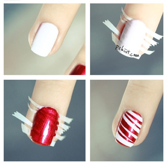 Easy Nail Designs With Tape Step By Stepeasy Art To Try Out At Home Mag  Dt2fcvyn