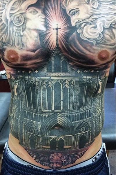 20 Unique Stomach Tattoo