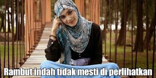 Cara Merawat Rambut Hijab, Cara Merawat Rambut Wanita Hijab