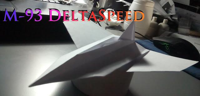 Avión de papel M-93