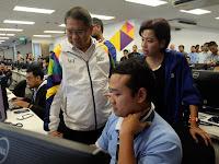 Menkominfo Resmikan Pusat Monitoring  Kualitas Layanan XL Axiata