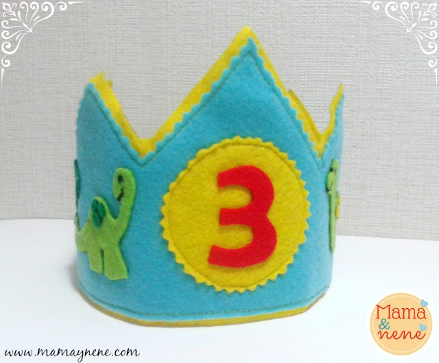 CROWN-CORONA-BIRTHDAY-DIY-DINOSAUR-KIDS-MAMAYNENE