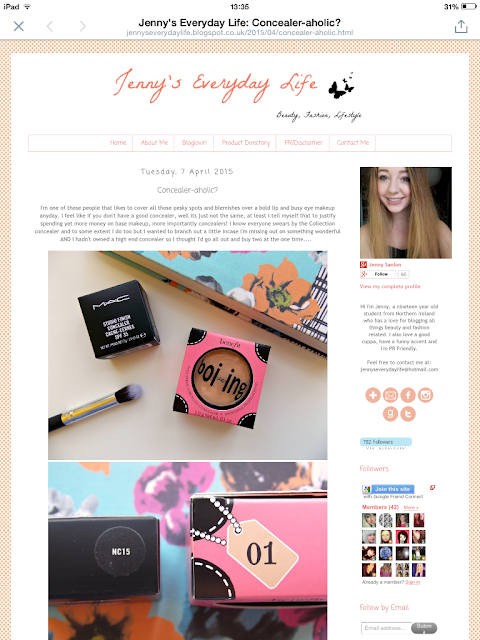 New Blog Design, Jennys Everyday Life, lifestyle, blogger