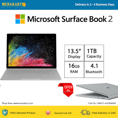 Microsoft Surface Book 2, 13.5 inch, 1TB, 16GB, i7