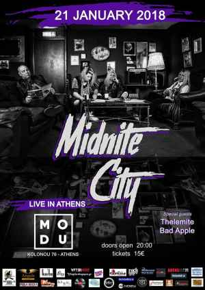 Midnite City live in Athens