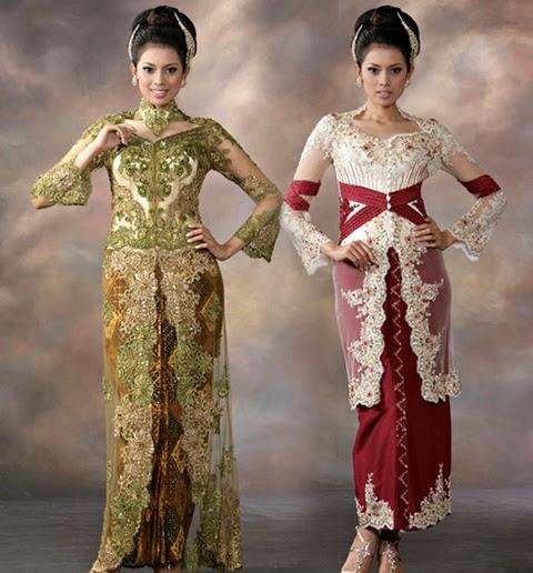 model baju kebaya modern tradisional 2016