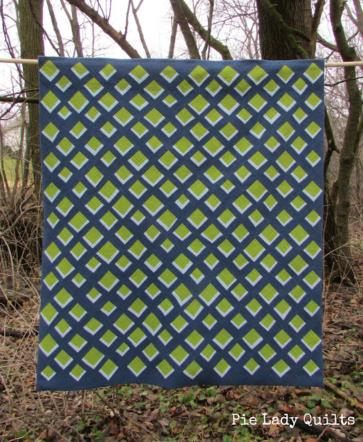 Inspiration blog post series - Rattlesnake, quilt made by Jill Fisher - Pie Lady Quilts