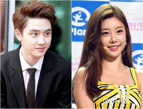 do kyungsoo dating rumors