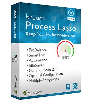 Process Lasso Pro 9.0.0.290 poster box cover