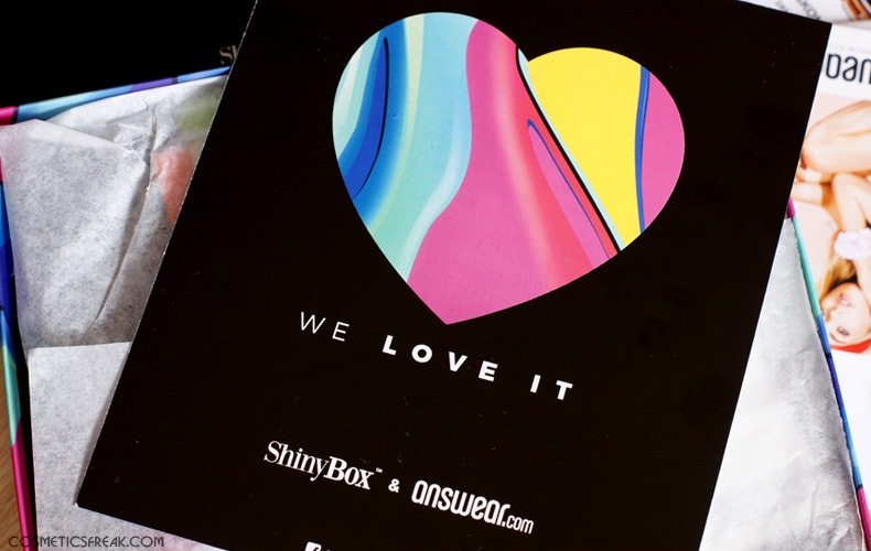 SHINYBOX LUTY - DO I LOVE IT?