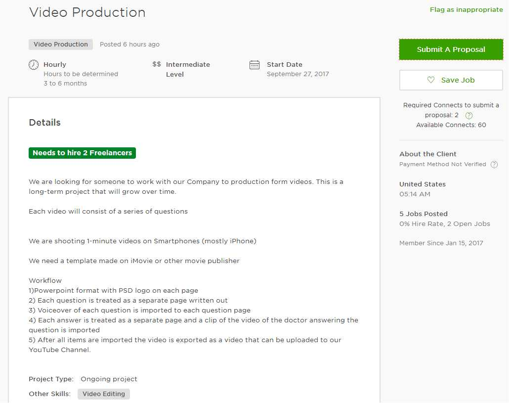 How To Submit A Cover Letter On Upwork