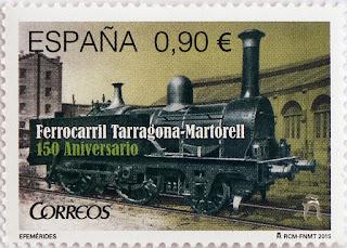 150 Aº FERROCARRIL TARRAGONA-MARTORELL