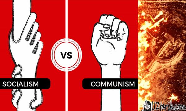 comunism vs socialism
