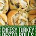 Cheesy Turkey Pesto Rolls Recipe