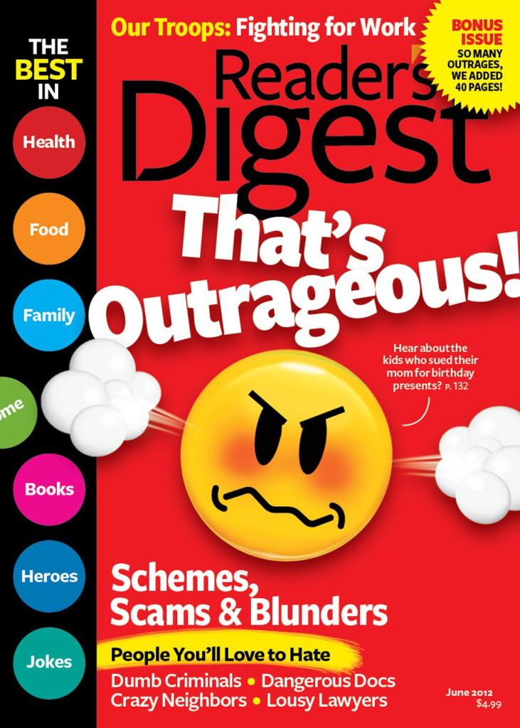 Why do I enjoy reading Reader's Digest?