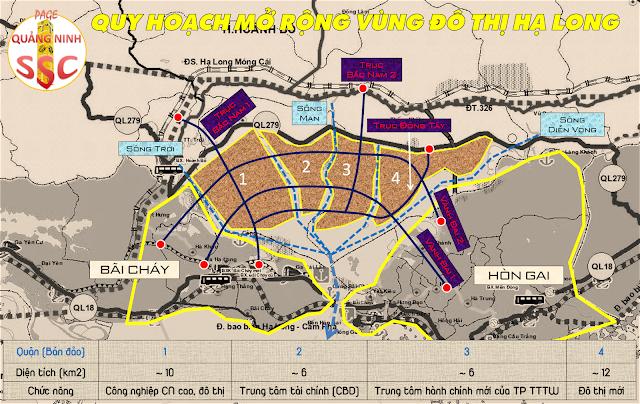 Quy hoạch mở rộng khu đô thị Hạ Long