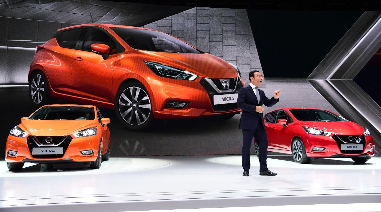 Με το νέο MICRA στο Σαλόνι Αυτοκινήτου του Παρισιού, η  Nissan εκτοξεύει την γκάμα της σε νέα επίπεδα καινοτομίας και ενθουσιασμού