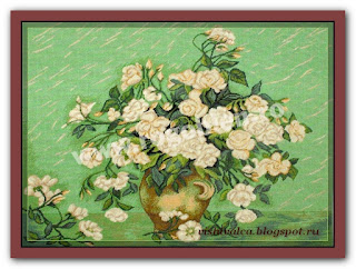 Download embroidery scheme Rogoblen 7.31 Rose Rain