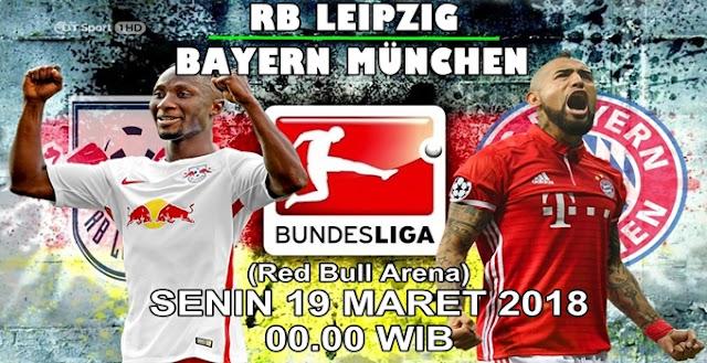 Prediksi RB Leipzig vs Bayern Munich 19 Maret 2018