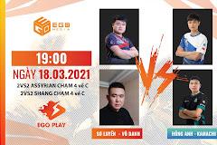 19h00 ngày 18/3, Hồng Anh - Kamachi vs Sơ Luyến - Phượng Hoàng Vô Danh: Kèo đấu khó lường!