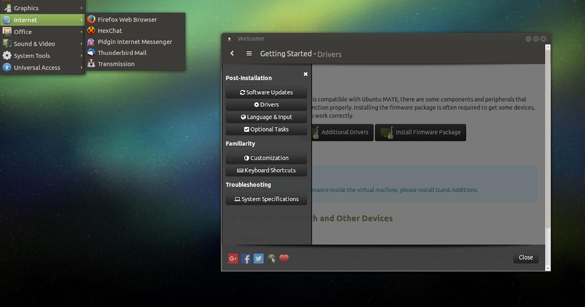 A Quick Look At Ubuntu MATE 16 04 LTS ~ Web Upd8: Ubuntu