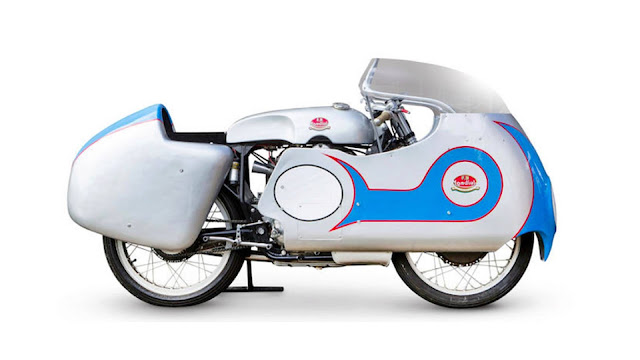 Mondial 250 GP 1950s MotoGP bike