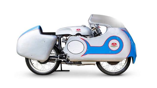Mondial 250 GP 1950s MotoGP bike