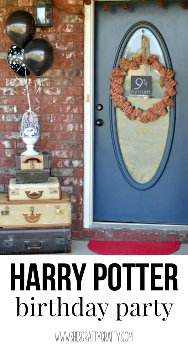 Great ideas to host a Harry Potter Birthday party for an 11 year old boy or girl