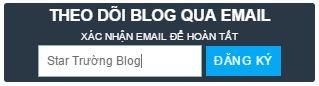 Khung subscribe cho blogger đẹp
