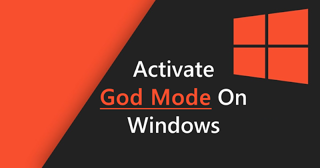 How to Activate 'God Mode' (All Settings) in Windows 10 1