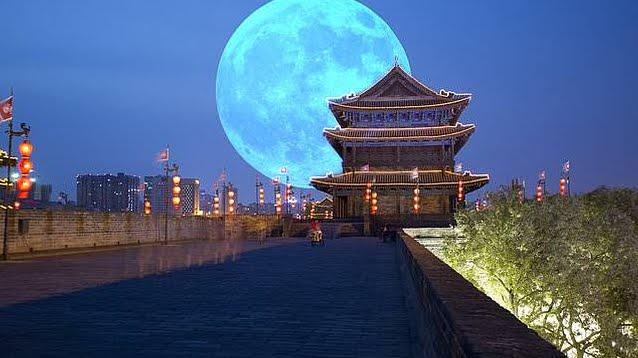 La Cina metterà in orbita una Luna artificiale nel 2020 per illuminare le sue metropoli.