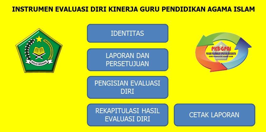 Format Evaluasi Diri KKG PAI