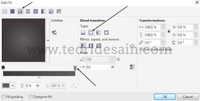 Cara Desain Kartu Nama Menggunakan CorelDRAW (Business Card) bagian belakang 1