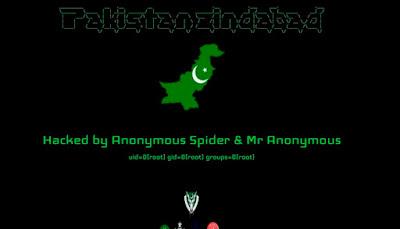 Site de prefeitura no Sertão da Paraíba é hackeado por um grupo do Paquistão