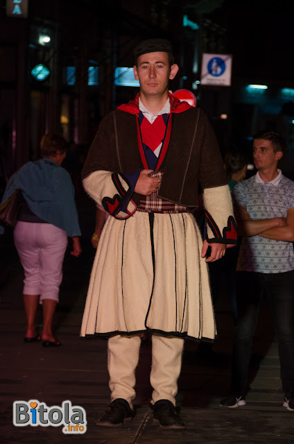 Macedonian national costume - Ethnic area Mala Reka - Miaks - men's costume