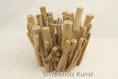 Windlicht Holz