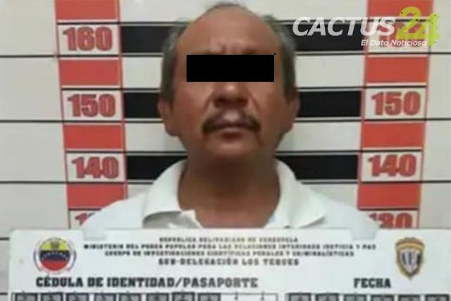 Viejo verde de San Antonio de los Altos abusaba de su nieta de 11 años