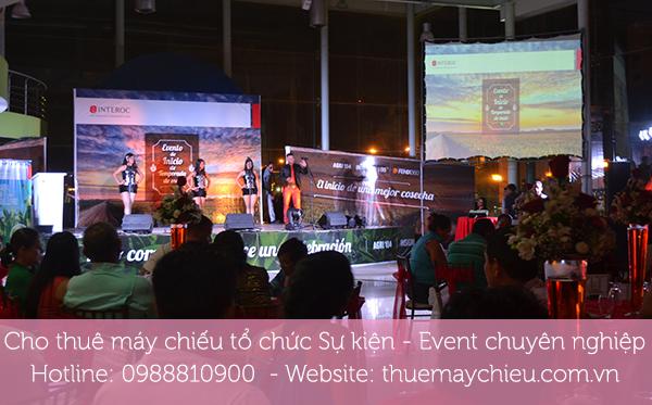 Cho thuê máy chiếu tổ chức Sự kiện - Event chuyên nghiệp