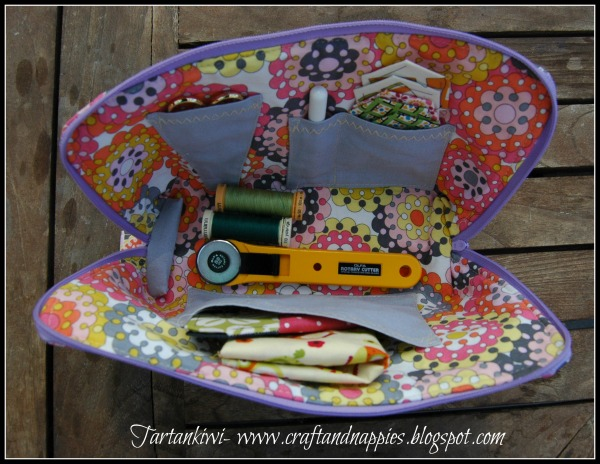 Sewing case tutorial zip