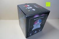 Verpackung: GHB Disco Light Lichteffekte Bühne DJ Beleuchtung Bluetooth Lautsprecher Mini-Kartensteckplatz rotierenden MP3 disco licht mit USB Anschluss