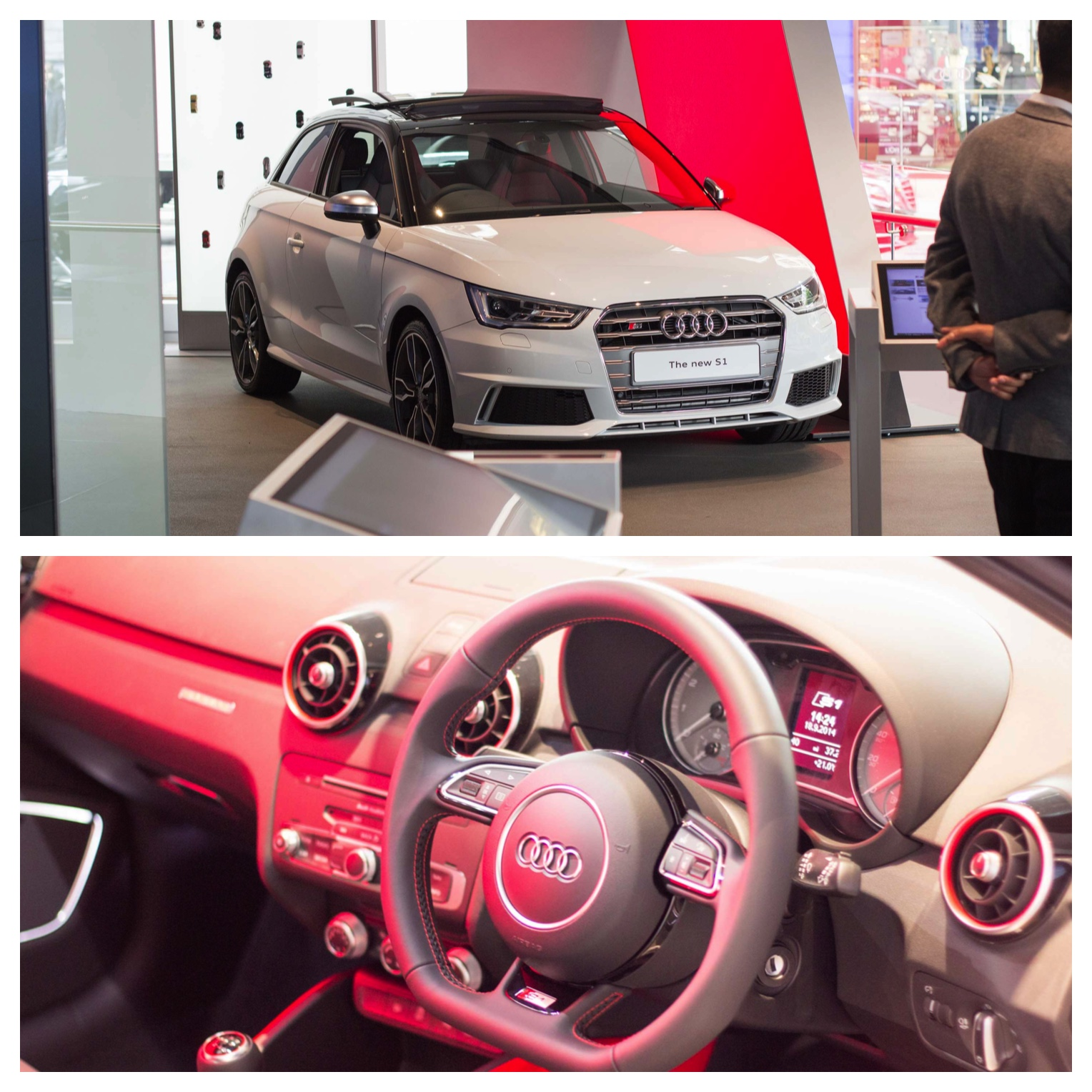 Audi S1 from London Mayfair Digital Showroom