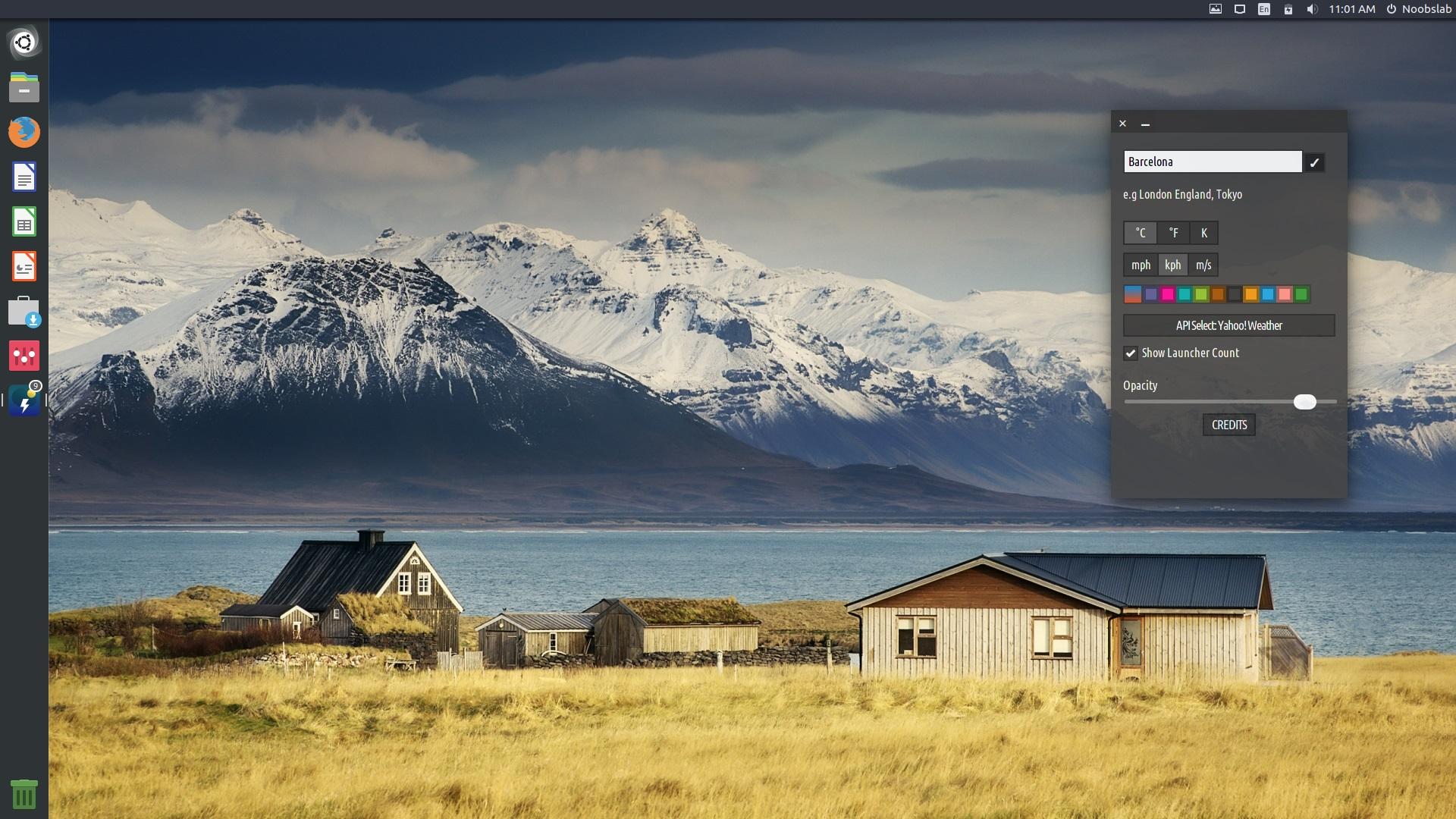 Conky Alternative Weather Widget Cumulus Available For Ubuntu