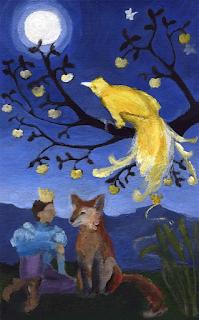El pájaro de oro - Der goldene Vogel