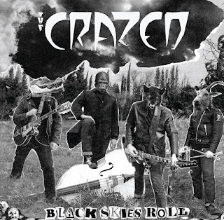 The Crazed - Black Skies Roll_front