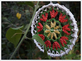 free crochet dream catcher pattern