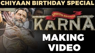 Mahavir Karna Making Video | Vikram | RS Vimal