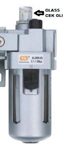 lubricator pada FRL unit