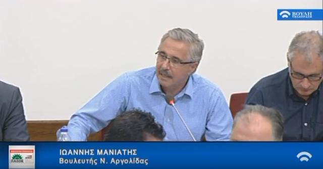 Γ. Μανιάτης: Αρκετά πια οι προχειρότητες της κυβέρνησης στο ζήτημα των δασικών χαρτών