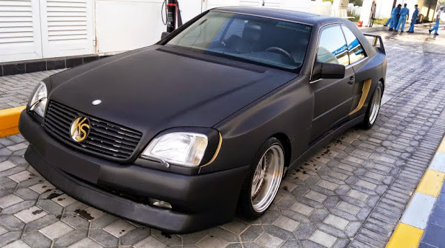 mercedes cl c140 koenig specials