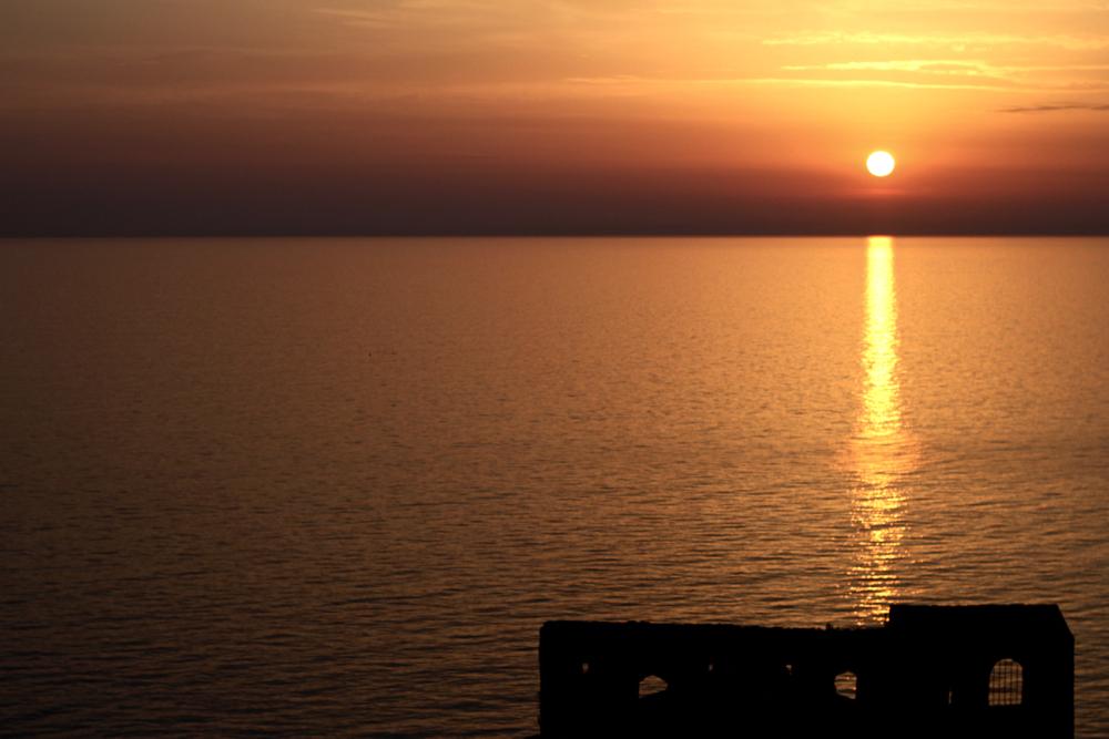 coucher de soleil montenegro